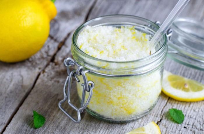 соль с лимонным соком