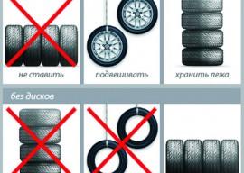 Как правильно хранить шины: несколько секретов