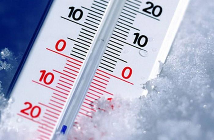 мороз на градуснике