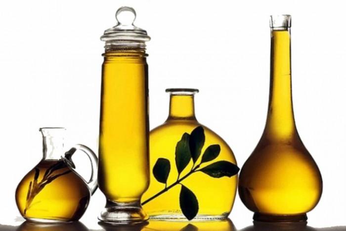 растительное и оливковое масло
