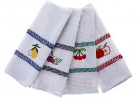 Как быстро и качественно отстирать кухонные полотенца в домашних условиях