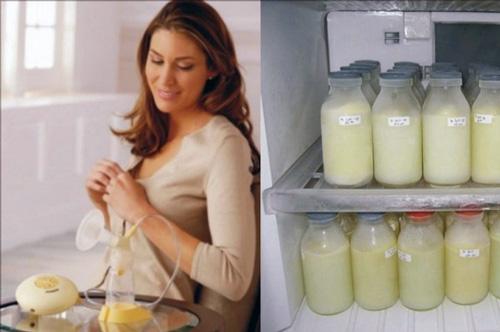 сколько можно хранить сцеженное молоко в холодильнике