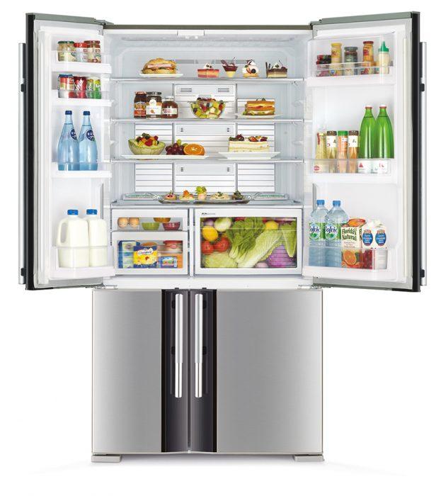 полки в холодильнике
