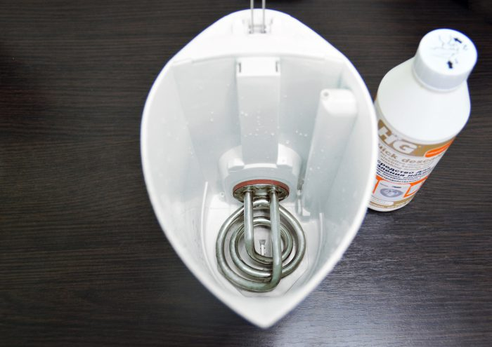 как очистить чайник от накипи