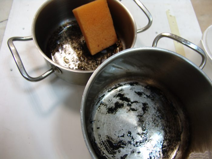 Как почистить эмалированные кастрюли в домашних условиях