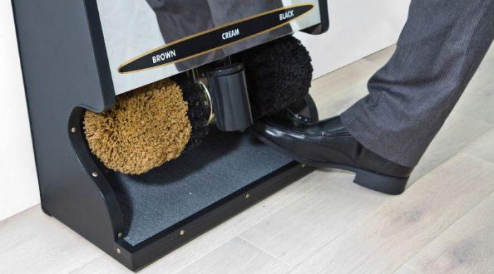 качественная очистка обуви в офисе