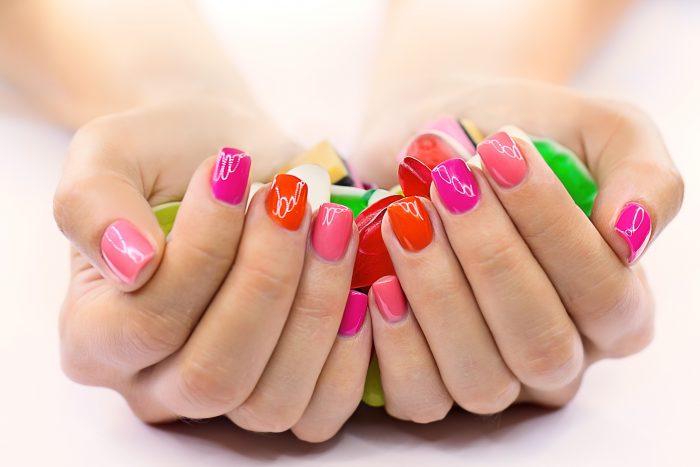 как высушить лак на ногтях