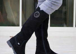 Как правильно ухаживать за велюровой обувью зимой