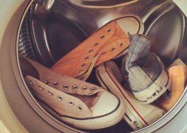Можно ли стирать обувь в стиральной машине? Как правильно стирать?