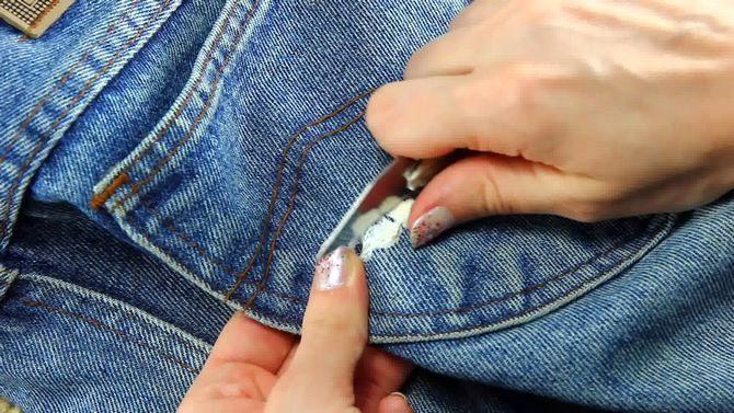 жвачка на одежде как вывести