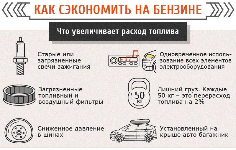 сэкономить бензин на автомобиле