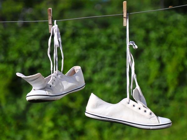 как стирать обувь в стиральной машине автомат