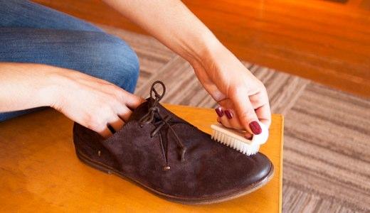 как чистить замшу в домашних условиях