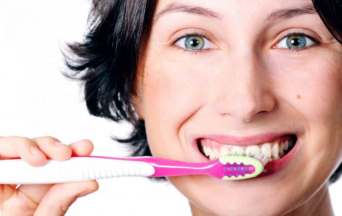 ошибки на момент чистки зубов