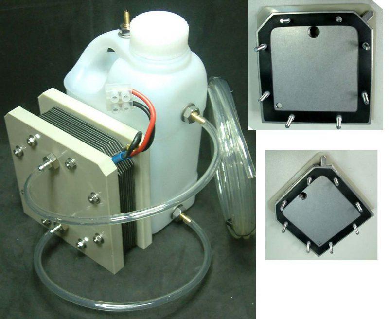 Использование генератора водорода
