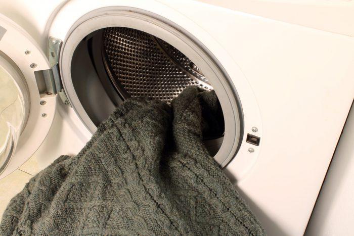как постирать шерстяной свитер