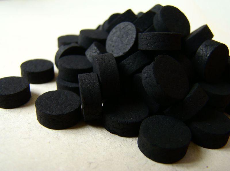 активированный уголь против радиации