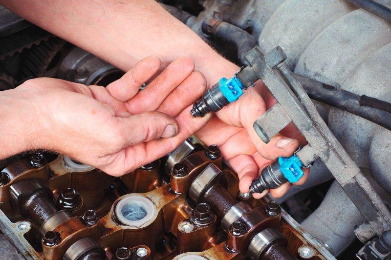 Экономят топливо чистые форсунки инжектора