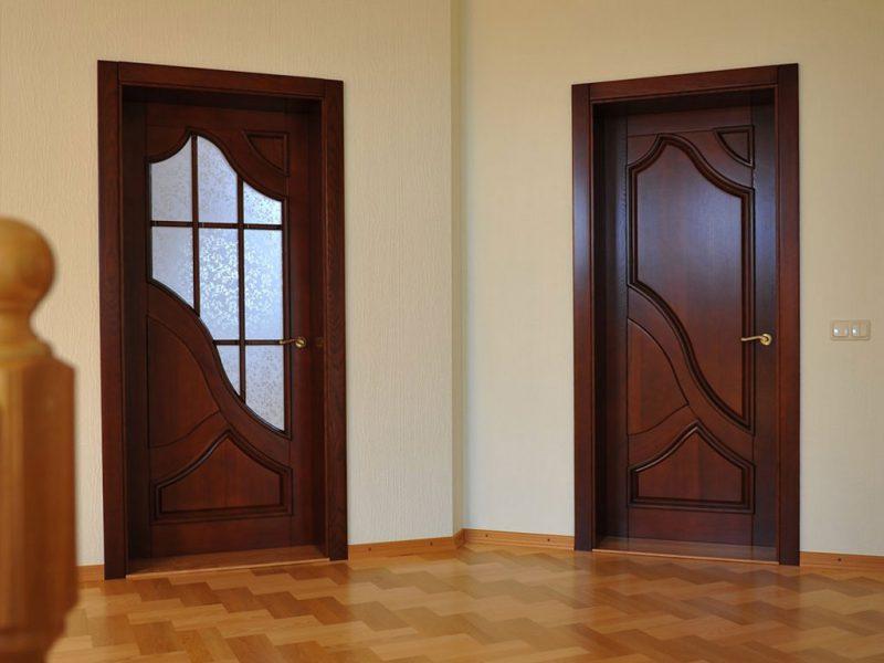 Межкомнатные двери с клееного массива