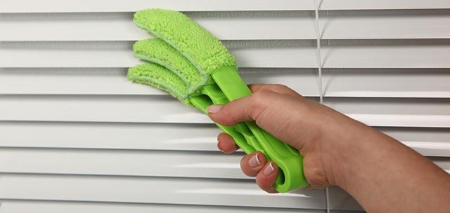 Способы мытья жалюзи