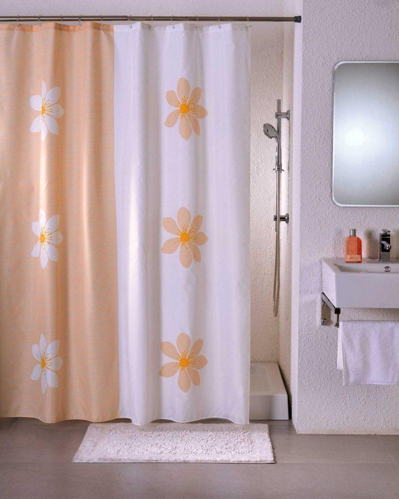 как стирать штору для ванной