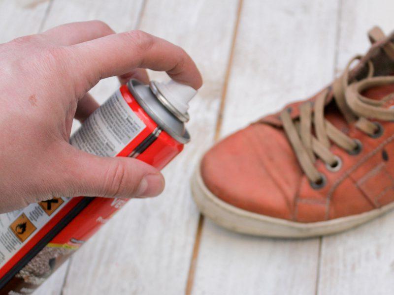 защита кроссовок от влаги