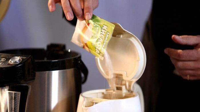 Чистим накипь лимонной кислотой
