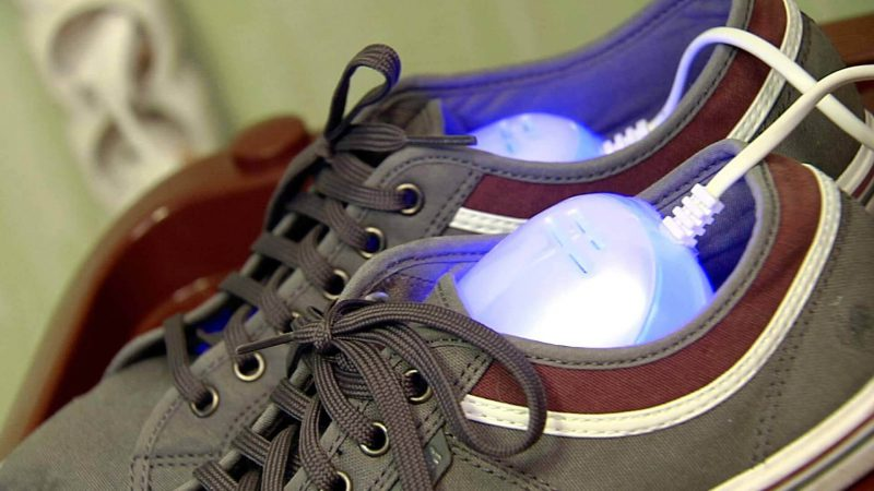 как быстро сушить обувь