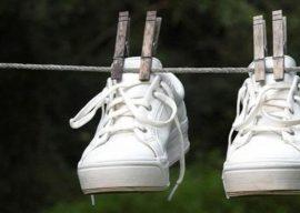 Как правильно постирать и быстро высушить кроссовки?