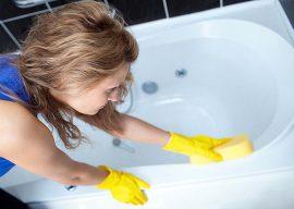 Как быстро отбелить ванну в домашних условиях?