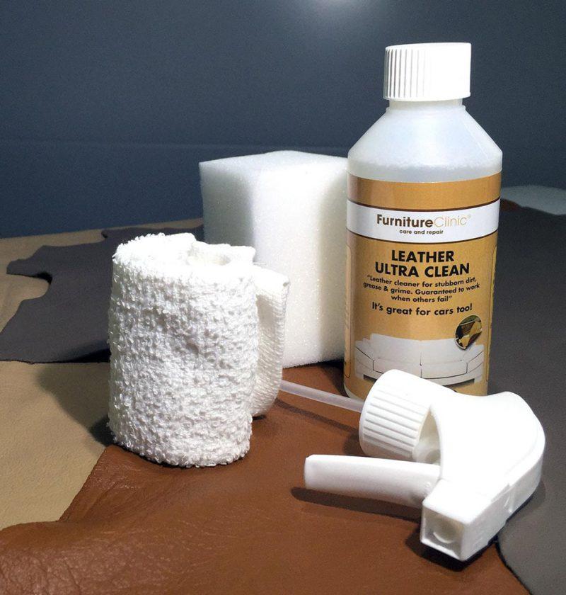Как почистить куртку из белой кожи?