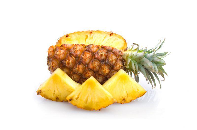 быстрая очистка ананаса