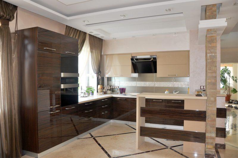современная кухня мебель