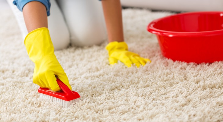 как почистить палас в домашних условиях