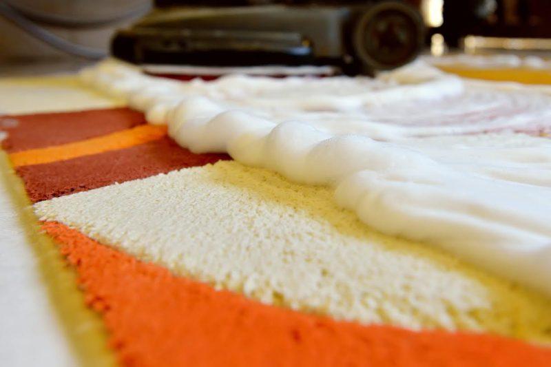 Чыстка ковролина ў хатніх умовах