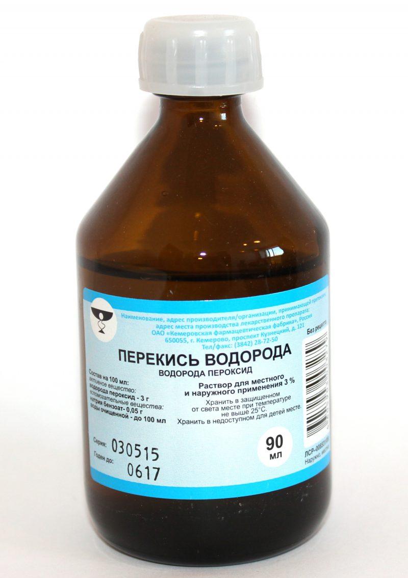 Использование перекиси водорода