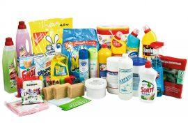 Хозяйственные товары и бытовая химия для клининга