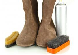 Как правильно чистить обувь из нубука