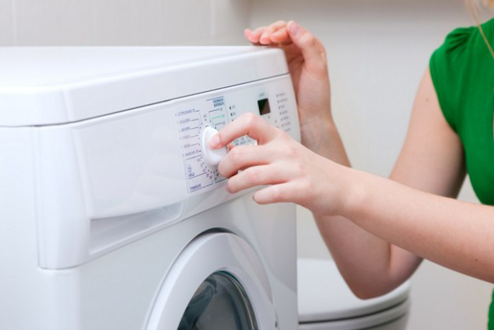 выбираем режим температуры в машинке