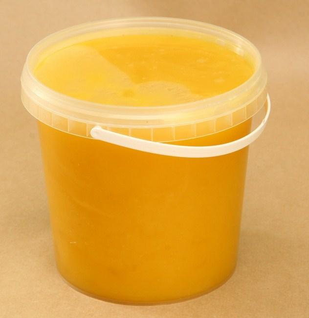 мед в пластиковой таре