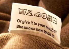 Обозначения на вещах – как правильно стирать одежду