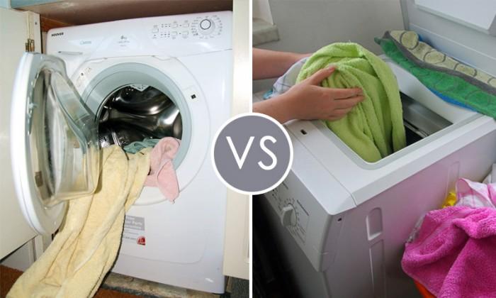 способ загрузки стиральной машины
