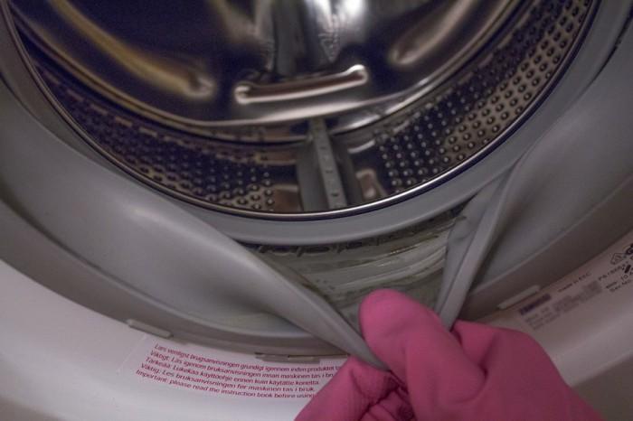 чистка стиральной машинки