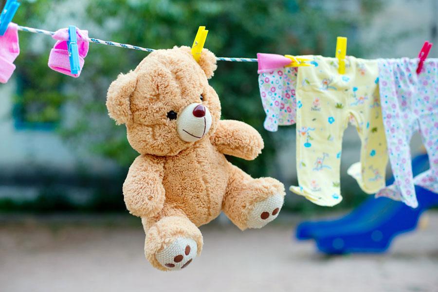 стирать мягкие игрушки в стиральной машине