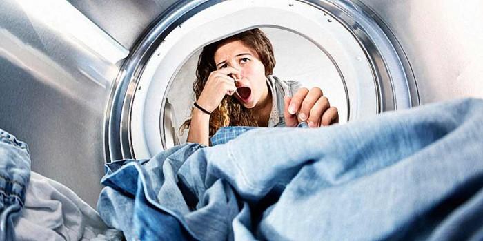 Неприятный запах из стиральной машины
