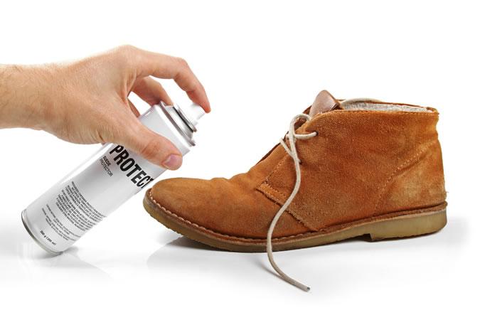 обработка замшевой обуви от влаги