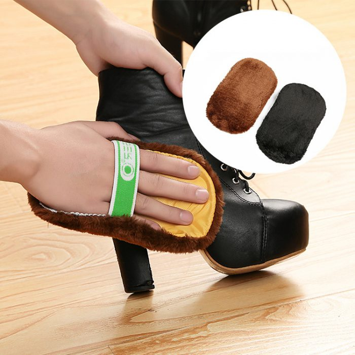 как быстро почистить обувь