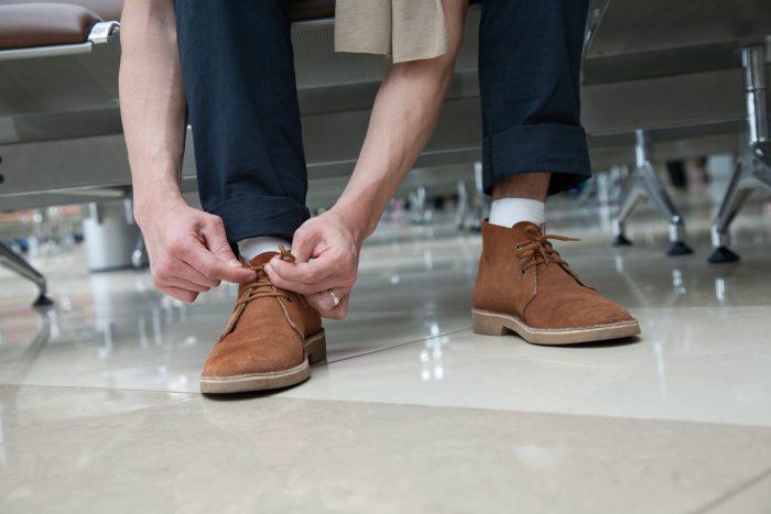 Секреты очистки обуви