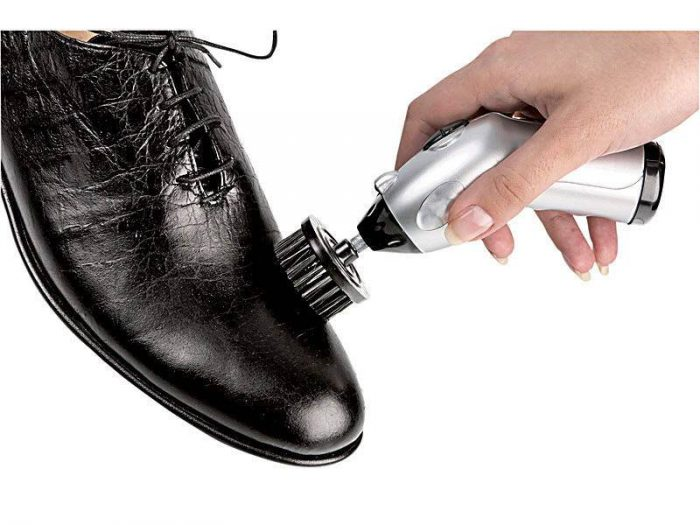 Чистка обуви дома