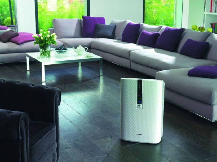 воздухоочиститель и увлажнитель для комнаты